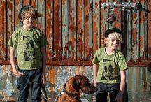 Mini-Stoff / T-Shirts der Designshirt Manufaktur KONTAKTSTOFF – gefertigt im handgemachten Siebdruck.