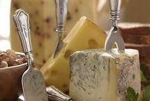 La route des fromages / Partons à la découverte des fromages de nos régions...