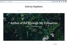 Through My Eyes Series / #eBook - Book One - Broken available now for FREE in English & Spanish from my website. My Website http://katrinaauthor.weebly.com/  Book #2 is coming soon. Follow me on Twitter @KatrinaAuthor