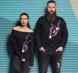 Männer-Stoff / T-Shirts der Designshirt Manufaktur KONTAKTSTOFF – gefertigt im handgemachten Siebdruck.