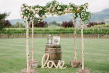 """hochzeiten l """"weingut"""" / Da ich aus einer Weingegend komme, liebe ich schöne Hochzeiten auf alten Wingütern ... mit leckerstem Essen und Wein!"""