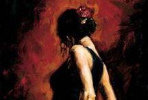 Flamenco / Algunas imágenes dedicadas a éste arte en movimiento.