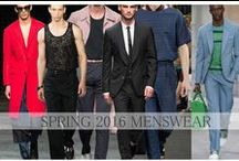 Spring Summer 2016 Menswear collections & trends