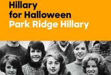 Hillary for Halloween / From her simple beginnings in Park Ridge, Illinois, to her statement-making years as secretary of state, Hillary has always showcased her signature style. Make a declaration of your own this Halloween in one of these five looks—or enlist your friends and put together a group costume that spans decades.