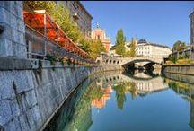 Ljubljana / Our small but beautiful capital Ljubljana.