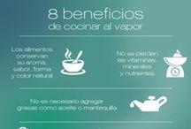 cocinar al vapor / Apuesta por una cocina saludable!
