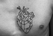 # Tattoo # Drawing # Design / # Tattoo # Geometric # Natural # Black & White