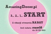 shop AmazingDecor.pl / Wszystkie produkty są na naszych półkach sklepowych www.amazingdecor.pl