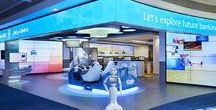 Innovative 'Lab Branches of the Future' / Innovative 'Lab Branches of the Future' that function as concept stores, enhance the bank's core brand values whilst using state of the art technology to reinvent the relationship with clients and attracting new customers.