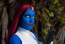X-men Halloween 2014 / Mystique costume