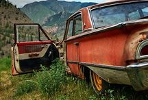 Abandoned Autos / 1940's-1970's cars that lost their way. / by Scot Campbell