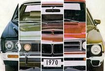 American Motors Corporation / AMC vehicles from the 60's and 70's. / by Scot Campbell