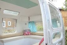Airstream Tiny House Ideas / A collection of others' images as inspiration for my Airstream tiny house.