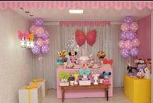 Loja de Laços da Minnie / Festas realizadas por mim.