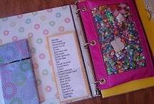 Busy book ideas / This is a collection of games and craft ideas.  I will compile these into a three ring binder to give to my 10 year old daughter.  I plan on using this busy book for taking on trips, as well.  It will be fun to add new surprises.