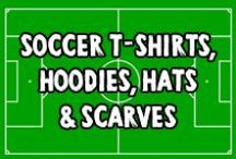 Super Soccer (Football) T-Shirts, Hoodies, Hats & More / These original soccer / football designs are available on t-shirts, hoodies and so much more in my Game Face Gear Zazzle, Cafepress, Skreened and Spreadshirt stores. Be sure to click on the images to see more details.