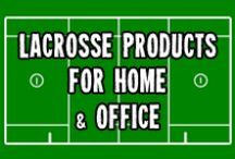 Lacrosse Products For Home & Office / Loads of great LAX products for your home. Including mugs, clocks, pillows, oven mitts, kitchen towels, aprons, ornaments, dry erase boards and so much more. Available in Game Face Gear's Zazzle and CafePress stores.
