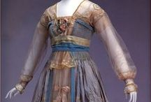 History of Fashion Design 1900 - 1920 / Designs of clothing and accessories in the era 1900 - 1920