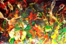 Peintures sensorielles / Peinture sur musique