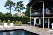 Maison Capbreton 06 11 73 26 40 / A louer pour vacances. 5 chambres, 1 piscine