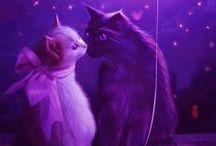 purple. / Purple is my favorite color
