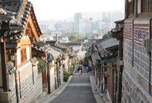 south korea / 대한민국. / by Irene Chang