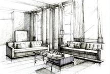 interiorHand drawing