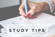 study tips / Helpful study tips for success in college and beyond!  / by Irene Chang