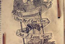 My tattoo and artwork