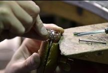 Scenes from MB factory, Valenza, Italy / pictures of making jewels in out factory
