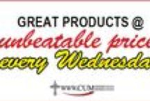 CUM Books Online Best Buys Every Wednesday! / GREAT PRODUCTS @ unbeatable prices every Wednesday @ www.cumbooks.co.za View products @ http://bit.ly/1qqkWdP / by CUM Books