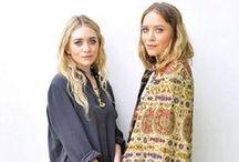Style Icon: Mary Kate & Ashley Olsen / by Mariana H