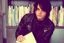 Gerard Freaking Way! / King Of Sass, Leader of My Chemical Romance ♥ Inspires a lot.  Old board, but memories still in mind <3