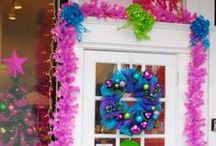 2013 Deck the Door Contest / Holiday Door Decorating Contest for Grosse Pointe Community Businesses