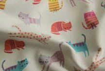 Fabric / by Purdeyblackcat