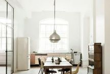 l i v i n g. / Couches - Chairs - Tables - Kitchen - Interior