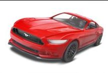Ford Fantastic / Fantastic Fords including the Ford Mustang plastic model kits, from the past to the present - FROM REVELL.
