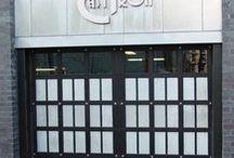 Residential Glass Garage Doors / High End Residential Glass Garage Doors