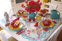 Vintage Handkerchiefs/Tablecloths/Linens / by Anna M