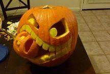 Abóboras Originais / Ideias para esculpir abóboras e fazer sensação na noite de Halloween!