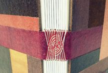 Stitches / I'm interested in all kind of stitches books are sewed together with
