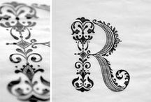 Typography / Fonts, typography and letter art.