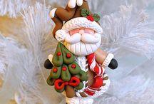 Christmas - Clay & Fimo / DIY with fimo, for Christmas