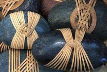 Japanese basketry knots