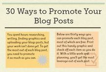 Blog Tips. / Simple and fun little tips to help your blog gain readers and make blogging a more enjoyable experience. :)