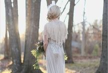 Wedding Dresses (not a meringue in sight) / All the dresses I love (LOVE)