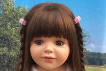 Ways to Style a Masterpiece Doll elbow length wig