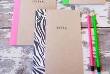 Back To School ♥ / All the things to school! From study ideas to diy notebooks! Enjoy and have a great year :)