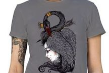 Womans Clothing / Womens Imprinted cute fashionable t-shirts. Printed on 100% cotton shirts.