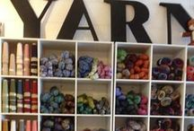 yarn shop / tante idee per un negozio di filati da sogno